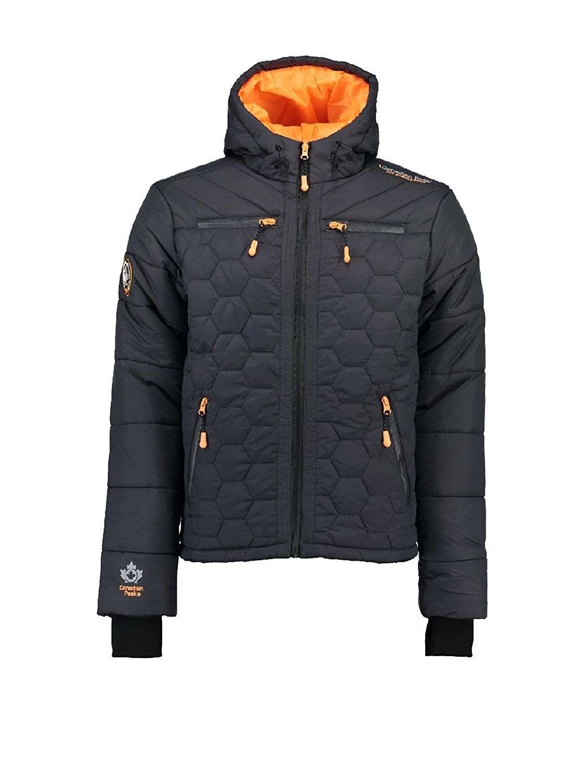 928775554801 Canadian Peak - Parka - Parka Banapolis - Taille L - Noir  Amazon.fr   Vêtements et accessoires