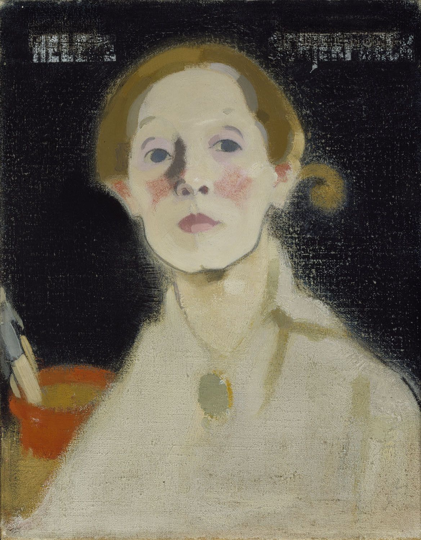 Autoportrait - Helene schjerfbeck