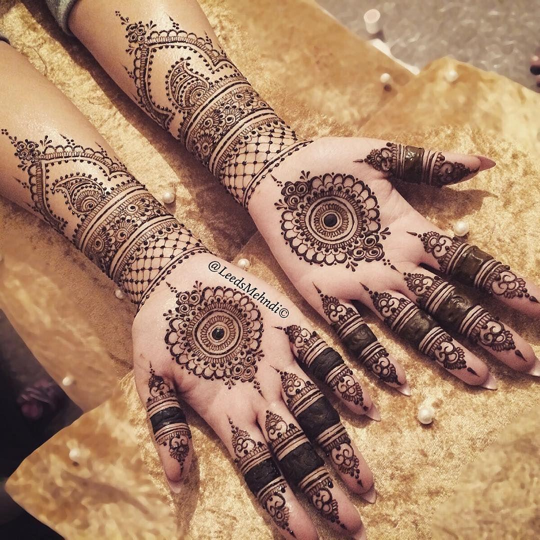 Mehndi Tattoo Mandala : Bridal henna by leedsmehndi mandala design mehndi and