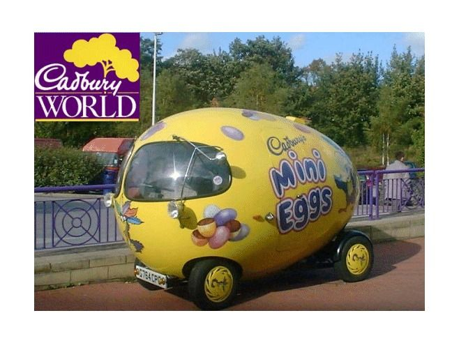 Cadbury World (chocolate factory & museum) -Birmingham, England