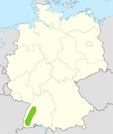 Map of Black Forest Area Germany Places to See
