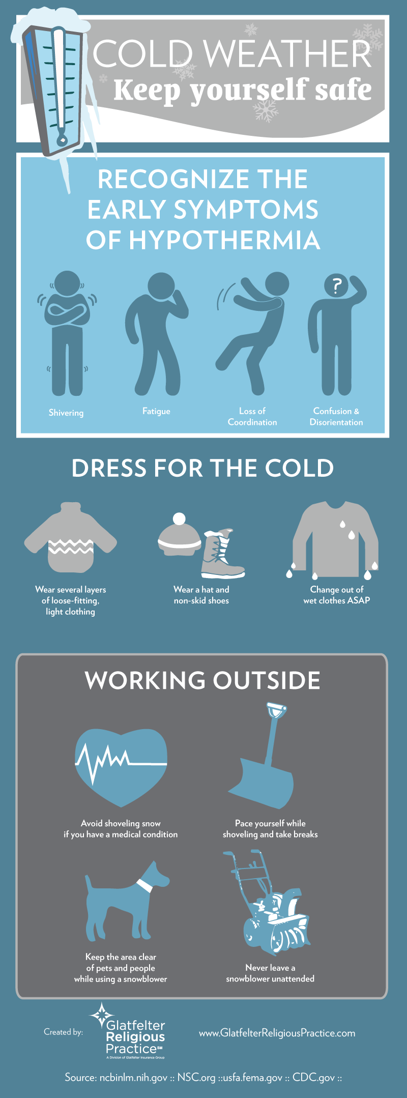 cold weather infographic