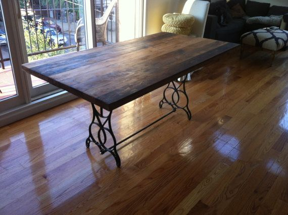 Reclaimed Wood Table Top Kitchen Table Reclaimed Wood Dining