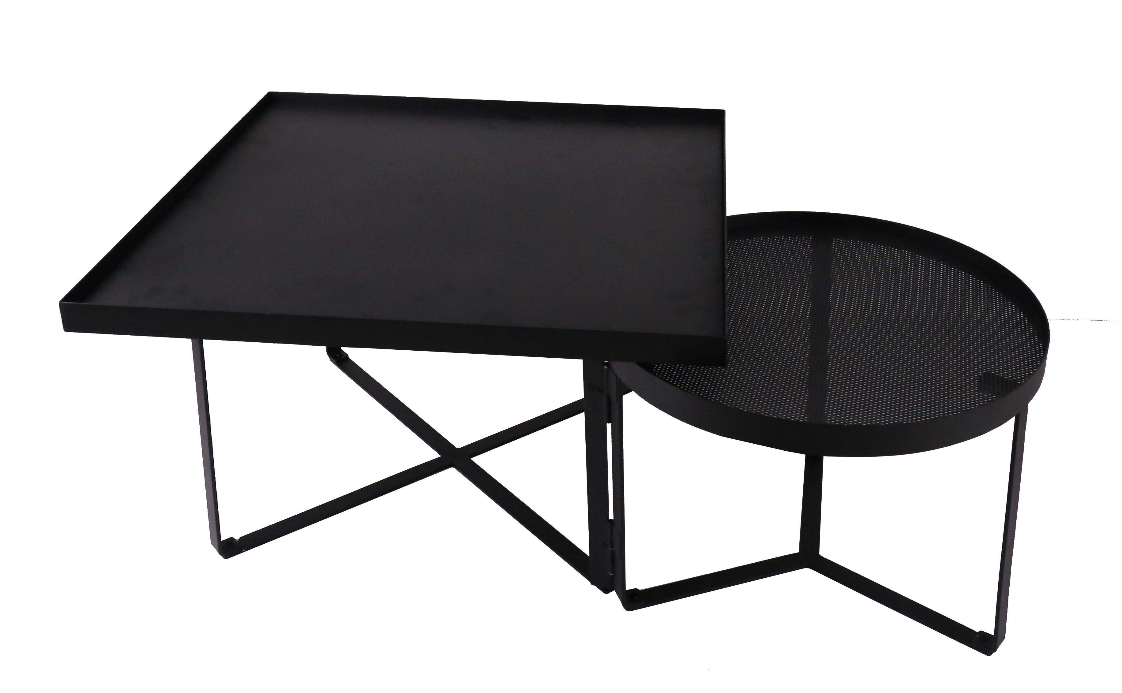 Table Basse Bahia En Metal Noir Pour Un Esprit Urbain Dans Votre Salon But Mobilier De Salon Table Basse Table
