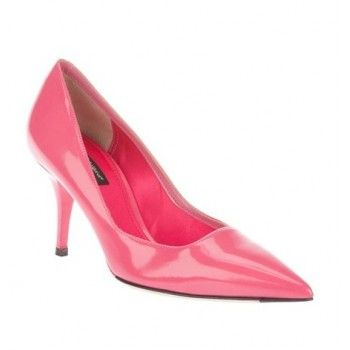 $189  Dolce & Gabbana patent pump