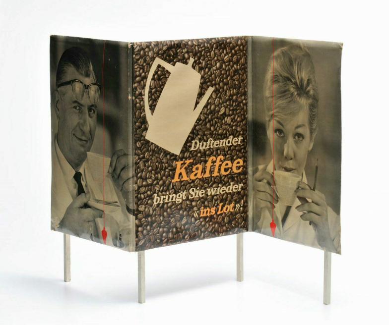 Werbeaufsteller Der duftende Kaffee, 1960-65