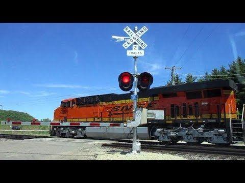 BNSF 6659 West Stack CHCPLD (5-20-2018) - YouTube | BNSF Railway