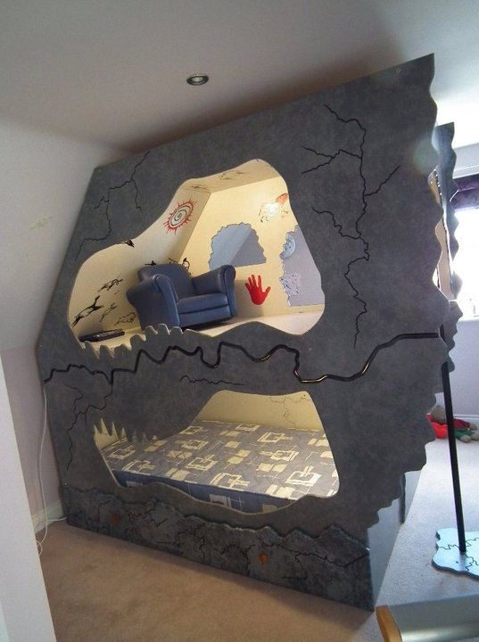 Dinosaur Cave Bed By Dreamcraftfurniture On Etsy 163 750 00