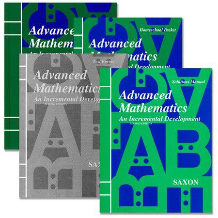 Saxon Advanced Math Homeschool Kit with Solutions Manual, 2nd Ed.