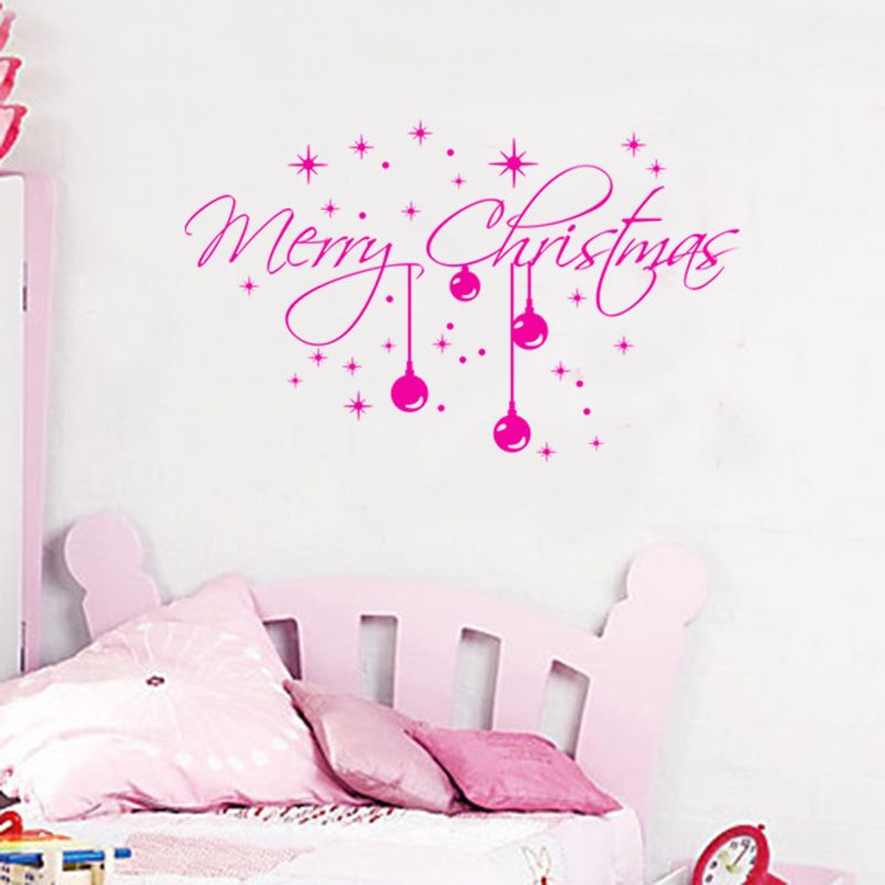 Mix Wholesale Order Merry Christmas Happy Wall Sticker ...