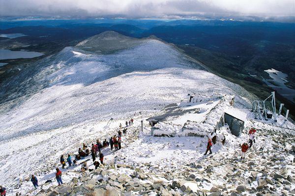 Gaustatoppen og Brattefjell-Vindeggen - Norske Naturperler