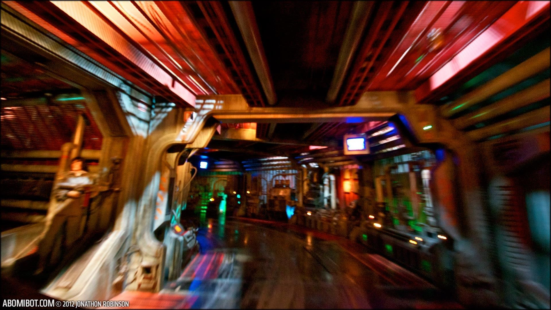 The Nostromo The Great Movie Ride Hollywood studios