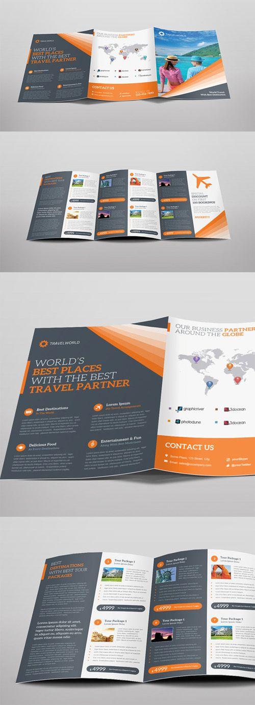 TriFold Brochure Design  Brochure Design  Layout