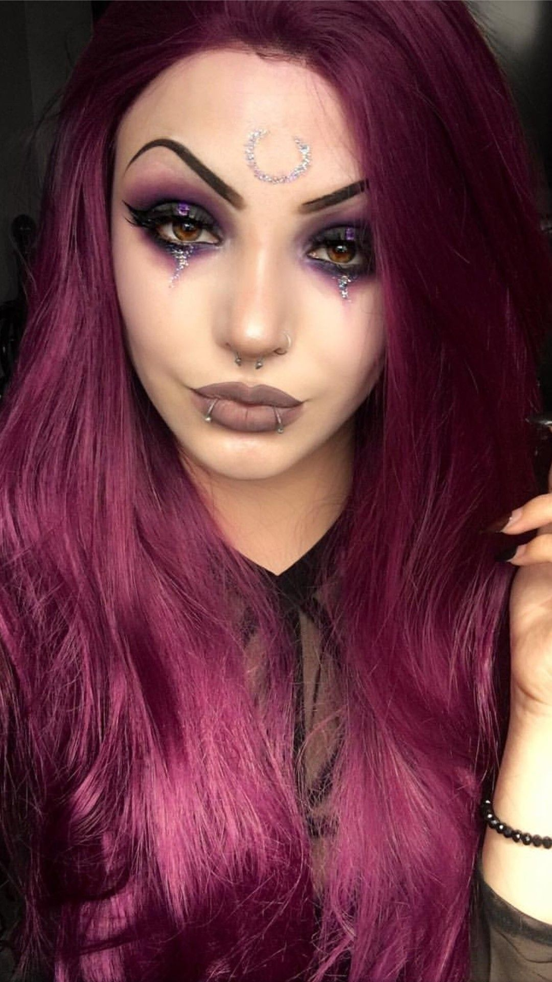 Pin by Sarah Torres on Makeup Ideas Gothic in 2020