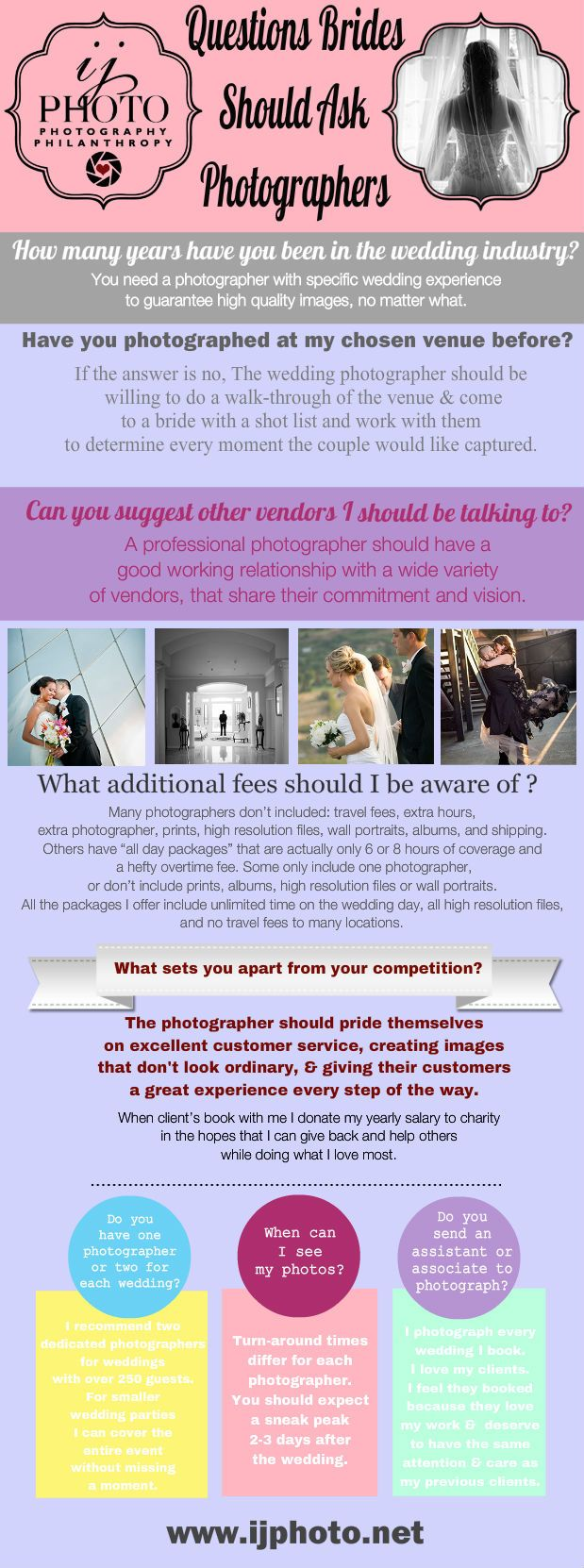 """Question Brides Should Ask Photographers,"" by seattlephotographer"