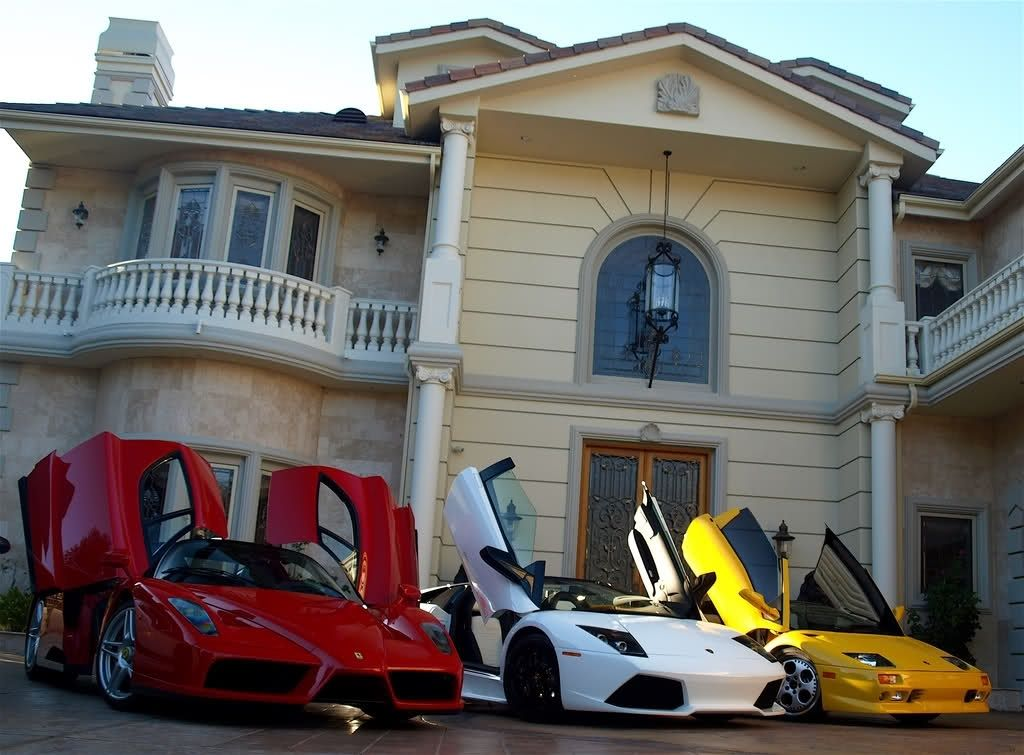 Luxury House And Car http://mansions-luxury-homes.tumblr/ | mansions | pinterest