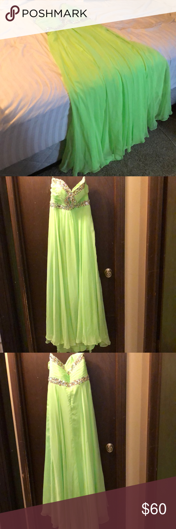 Size prom dress my posh picks pinterest lime green prom