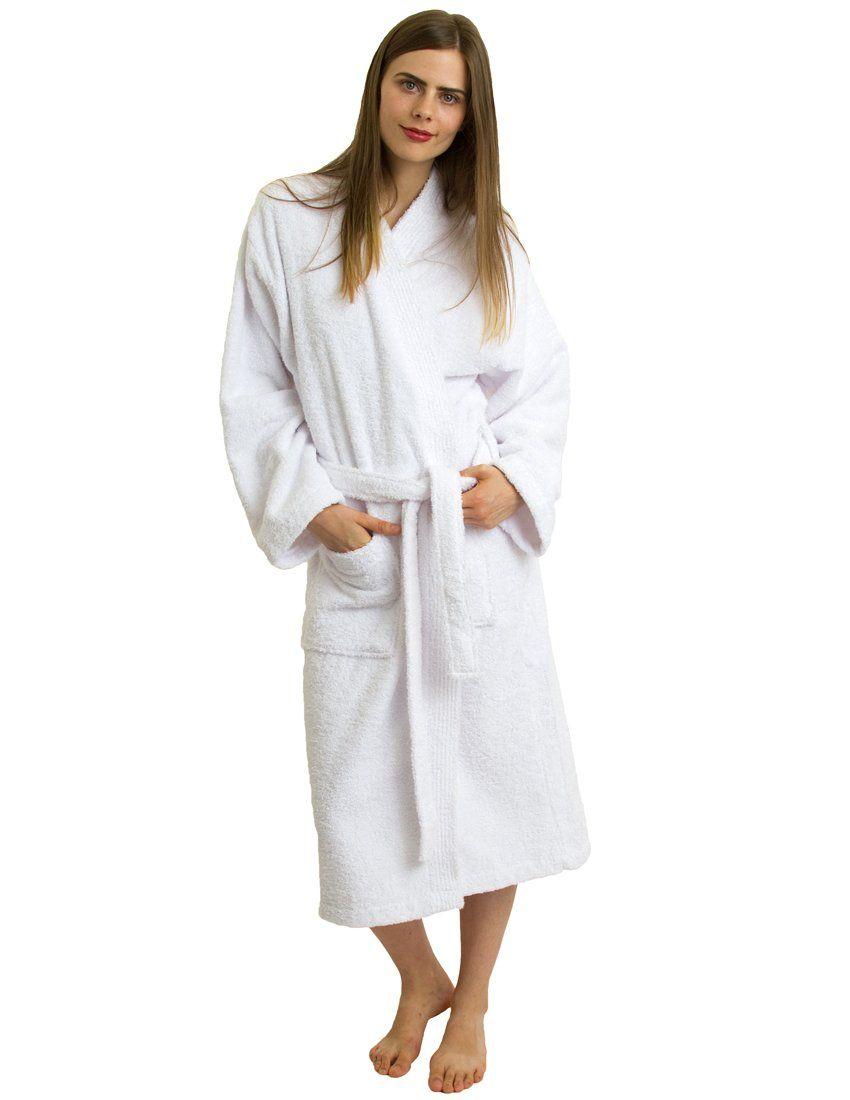 baa6b89faa5  40 TowelSelections Turkish Cotton Bathrobe Terry Kimono Robe Made in  Turkey at Amazon Women s Clothing store  Men Terrycloth Robe