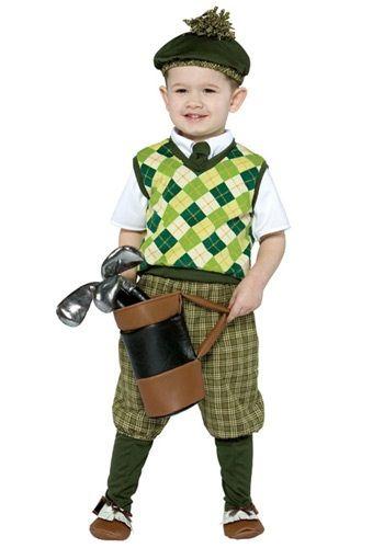 toddler future golfer costume infant golfer halloween costumes