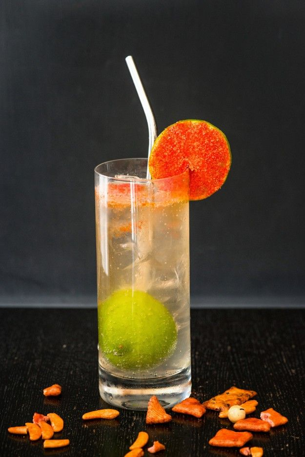 """Try this new summer cocktail recipe for a """"Rickey Goes to Hawaii."""" A unique variation on the Rickey – Washington D.C.'s Native cocktail."""
