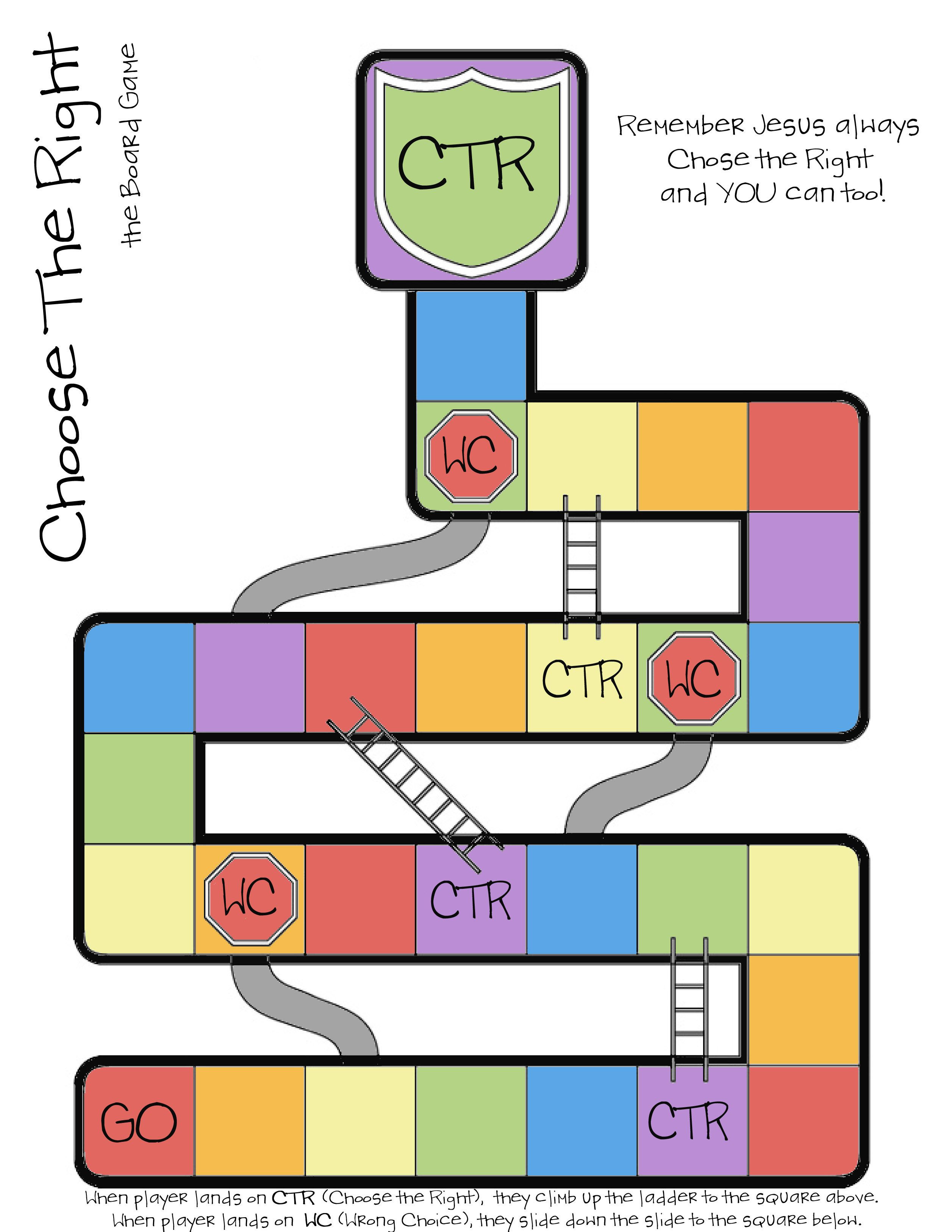 Game board colors - Ctr Chutes And Ladders Use It For Singing Time By Adding Songs To The Board