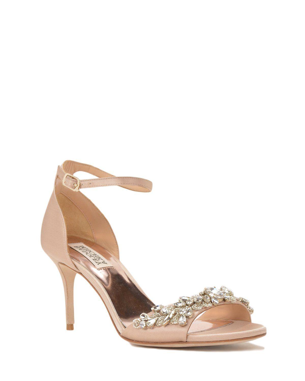 d67a78bbd02 Badgley Mischka Bankston Ankle Strap Evening Shoe