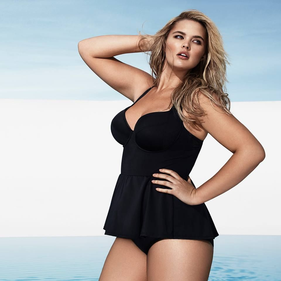 bf22dd04244e6 Peplum Natural Support One-Piece swimsuit from Beauty   The Beach  Collection from Torrid.  Swimwear  PlusSize