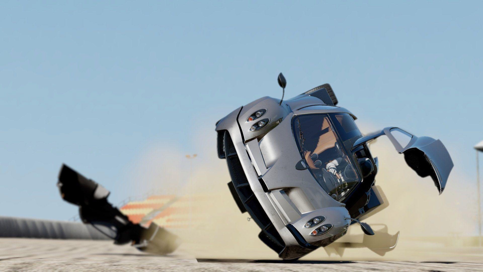 Pagani Huayra Crash Hd Wallpaper Pagani Huayra Super Cars Pagani