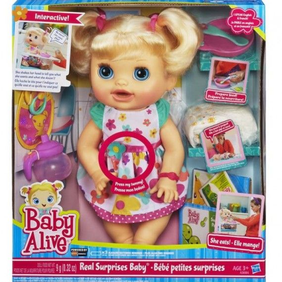 Babyalive Real Surprises Baby Doll Ptpa Award Winner
