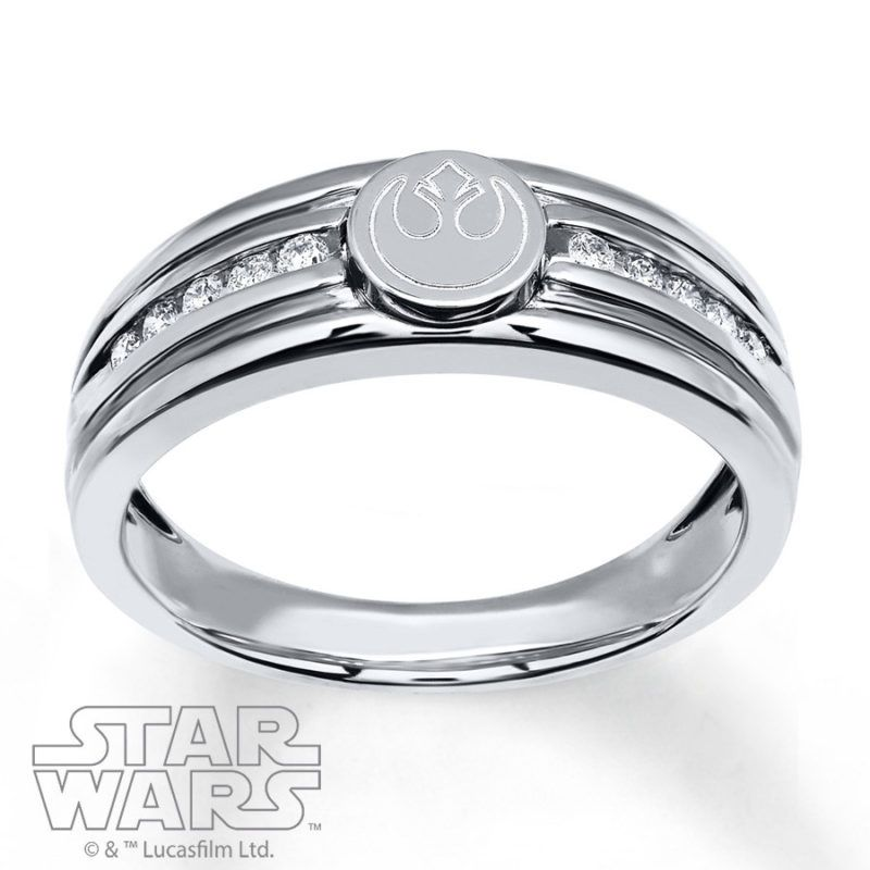 New Kay Jewelers x Star Wars rings Star wars ring Kay jewelers