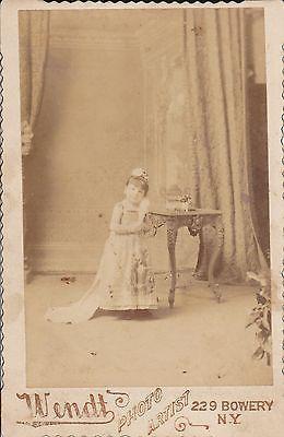 Henrietta Moritz, here at aged 22 years posing for Eisenmann cabinet card…