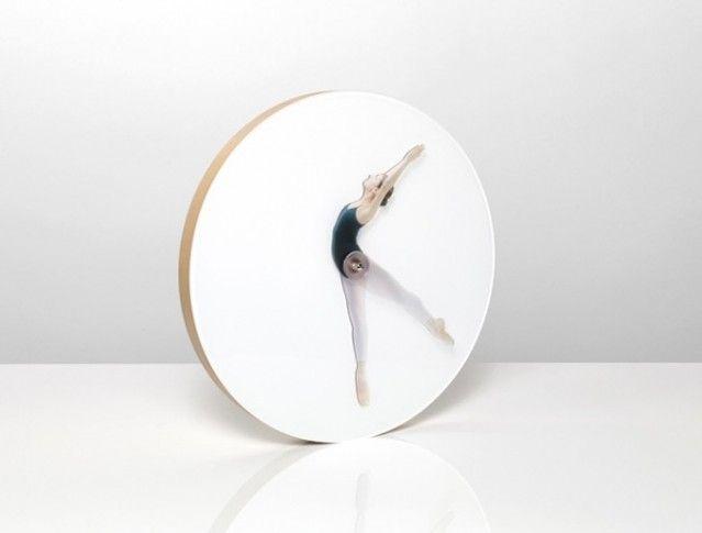 Ballet Clock Time Beautiful Clock Unique Clocks Clock Design