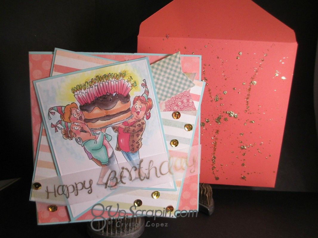 Art impressions ai girlfriends giant cake set sku4382 handmade art impressions ai girlfriends giant cake set sku4382 handmade birthday card bookmarktalkfo Image collections