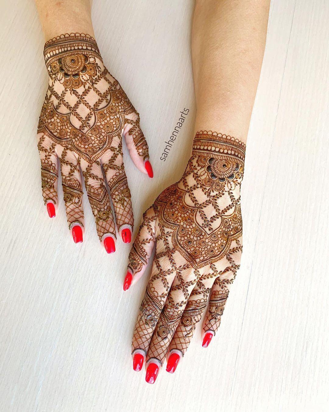 Henna artist on instagram reception henna for my lovely