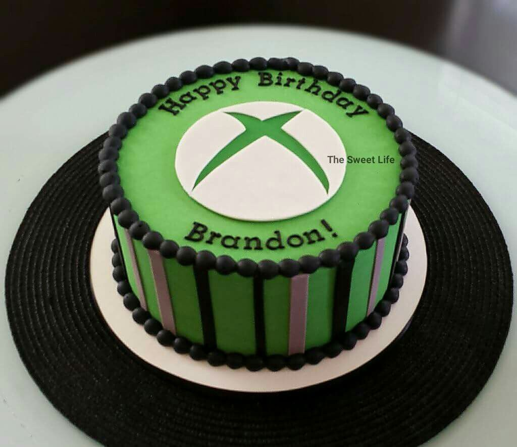 Themed Cakes, Xbox And Cakes