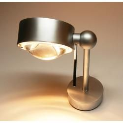 Photo of Top Light Puk Side Easy Single wall or ceiling lamp, halogen, arm length 10 cm, matt chrome Top Lig