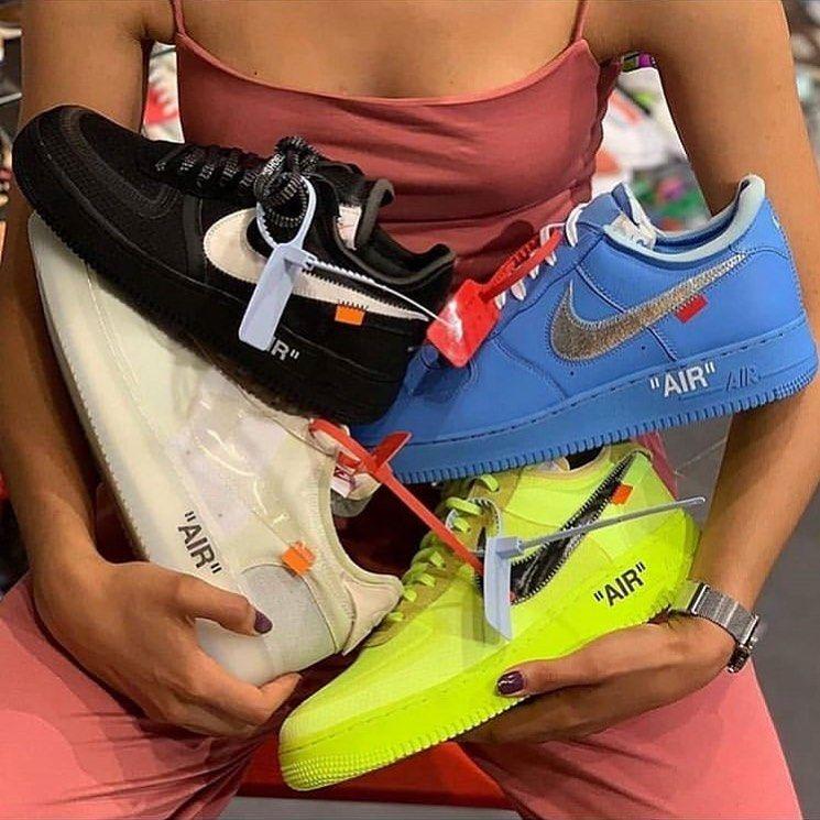 Épinglé sur Off White X Nike style