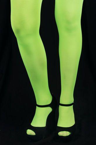 Sukkahousut -Neon Vihreä