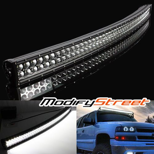 50 288w 24480lm 96 curved led off road light bar driving auxiliary