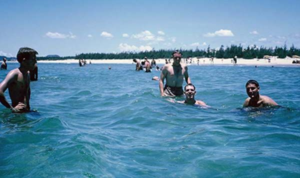 China Beach, Da Nang, March 1966