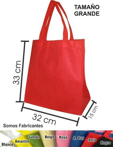 39e2fc3c7 Bolsa Ecologica Grande De 33x32x15, Mandado, Sin Impresión   bolsas  carteiras e mochilas