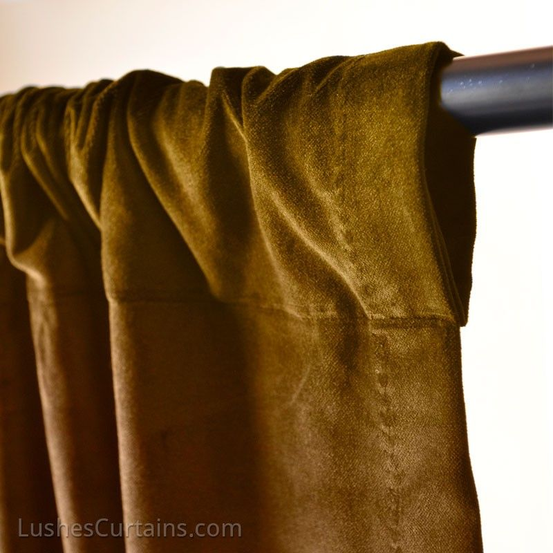 Amber Gold With Black Curtain Rod Pied A Terre In Paris In My