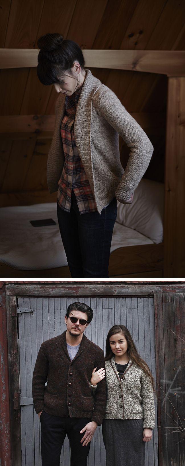 Make Your Own Basics: The shawl-collar cardigan   New on Fringe ...