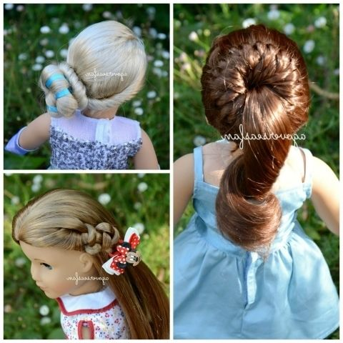 Cute Hairstyles For Your American Girl Doll Trends