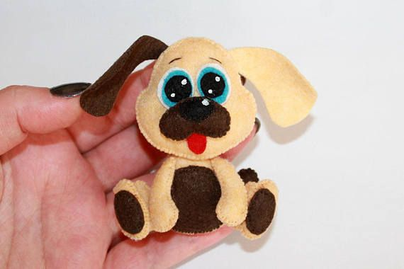2018 Christmas dog ornament Christmas dog felt ornament dog ...