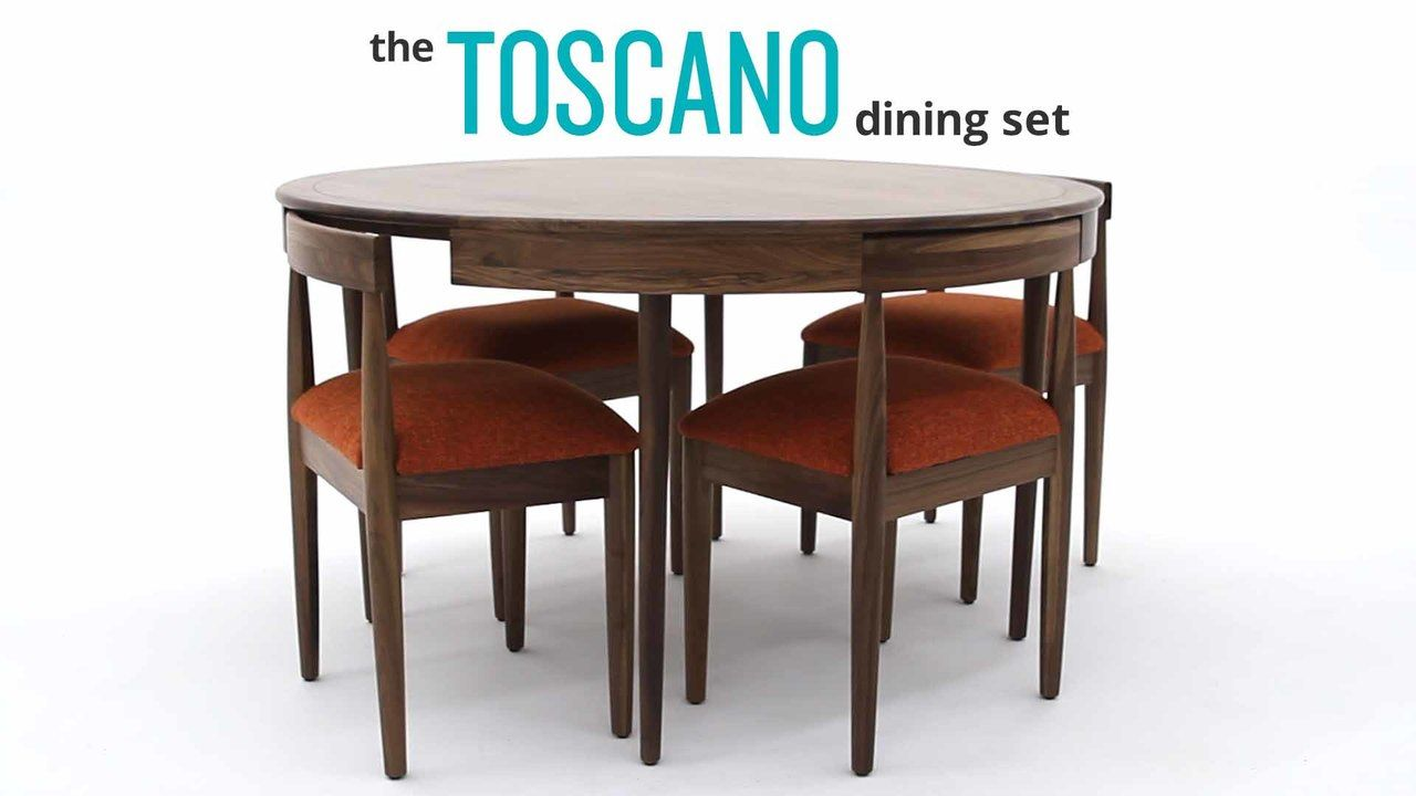 Toscano Dining Set By Joybird Furniture Make Every Meal An Event To Remember With This Stunning Yet Compact Upholstered In High Quality