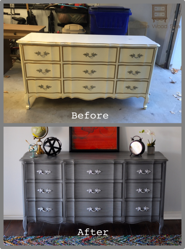 Upcycled French Provincial Dresser The Makeover