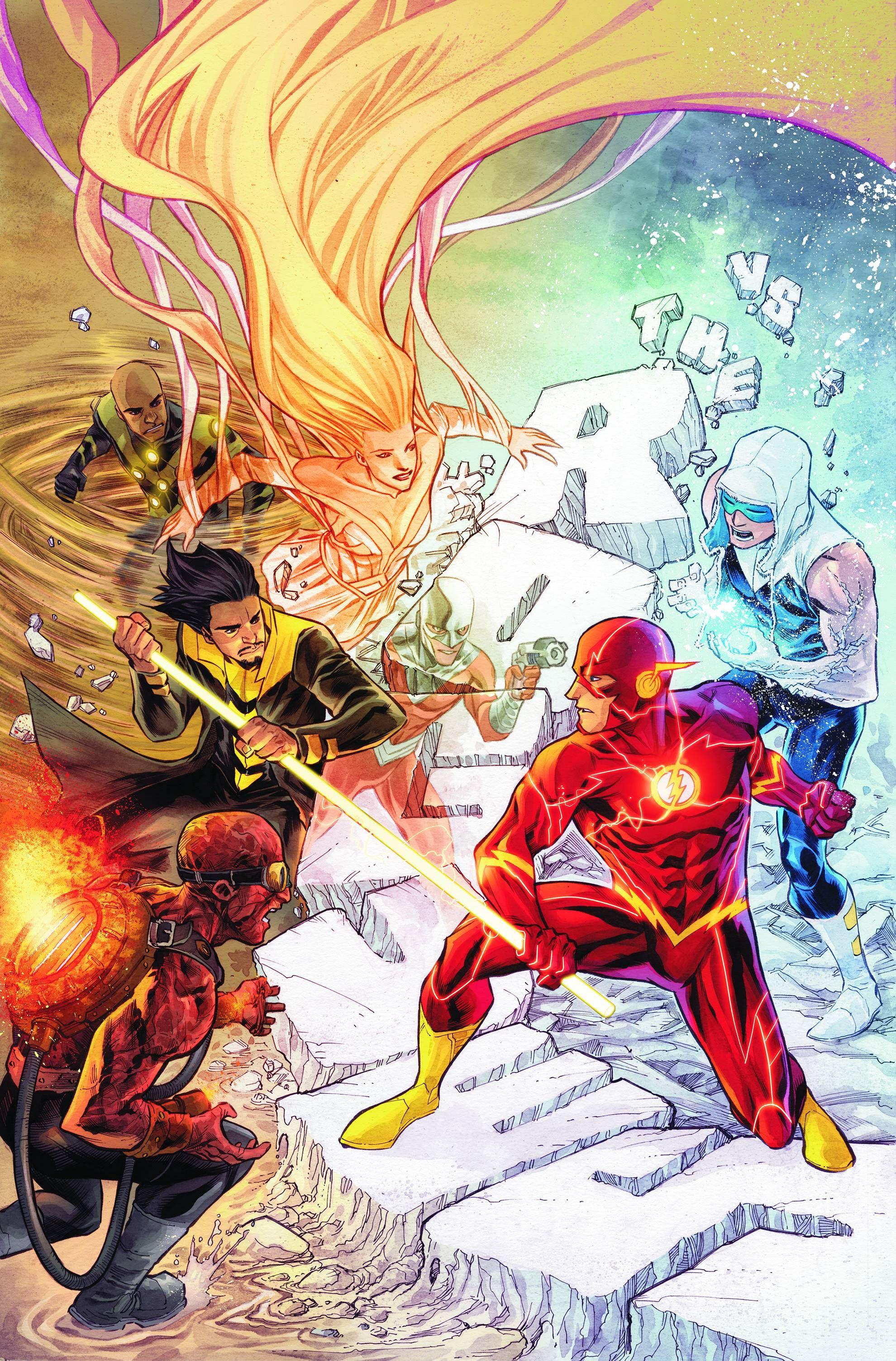 Flash Fan Art The Flash Annual 1 By Francis Manapul Awesomeness Aaa Flash Comics Flash Dc Comics The Flash