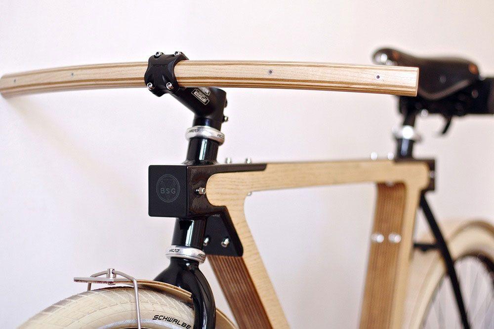 Wooden bike WOOD-b by BSG Bikes | Poder al Pedal | Pinterest