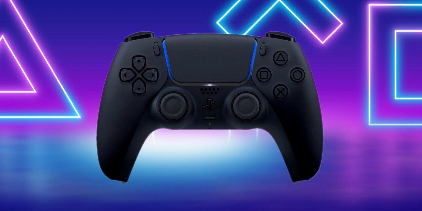 Playstation 5 Controller Black In 2020 Playstation Playstation 5 Video Game Room Design
